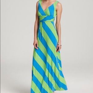 Lilly Pulitzer always a party green Maxi dress